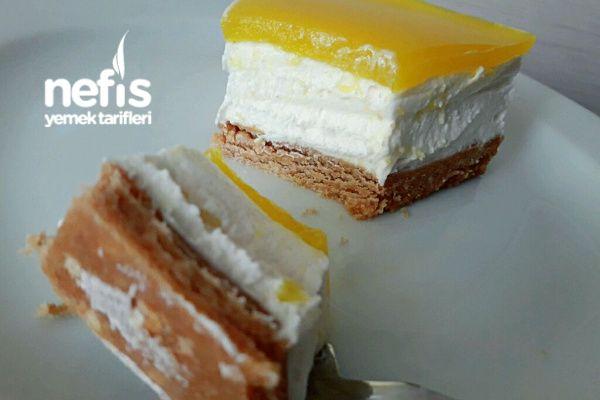 Pratik Limonlu Chesekek Pasta