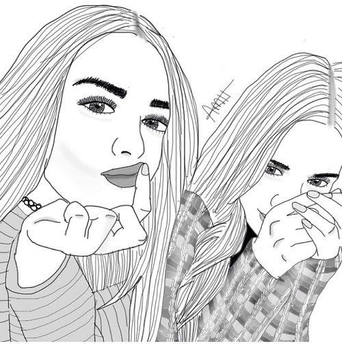 dessins de fille tumblr  | dessin, fille, filles, grunge, hipster - image #3605573 par marky sur ...