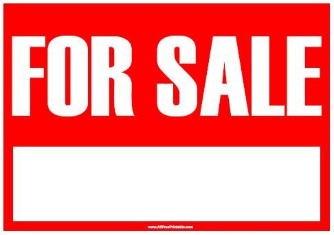 Printable Car For Sale Sign Template For Sale Sign Sign Templates Cars For Sale