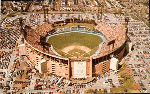 Memorial Stadium  Baltimore Orioles  Built: 1954  My parents had season tickets to the REAL COLTS - Baltimore Colts :0