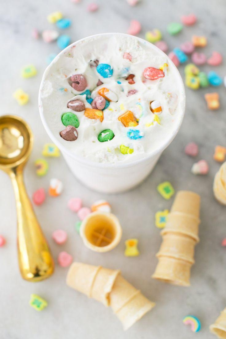 Lucky Charms Ice Cream Recipe