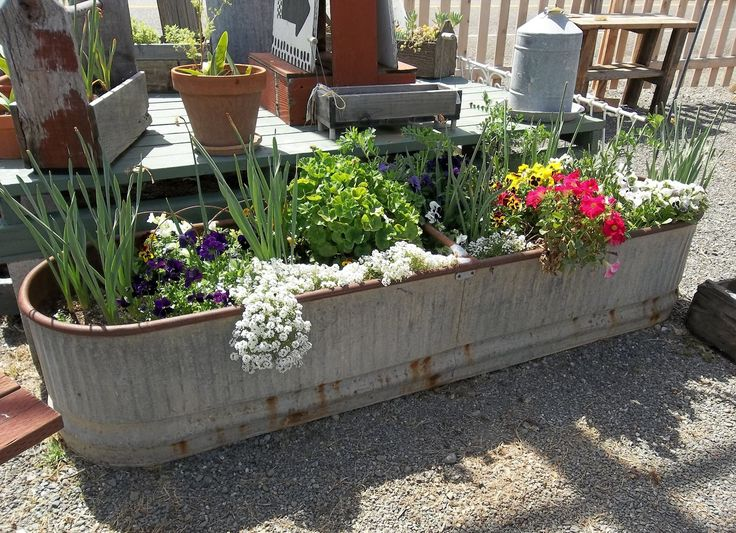 Vintage Ideas For Gardens Vintage Home Unique Container Gardening Ideas Ae Awesome
