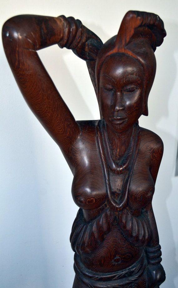African Art African Sculpture Vintage African by Boriquahafrikanah