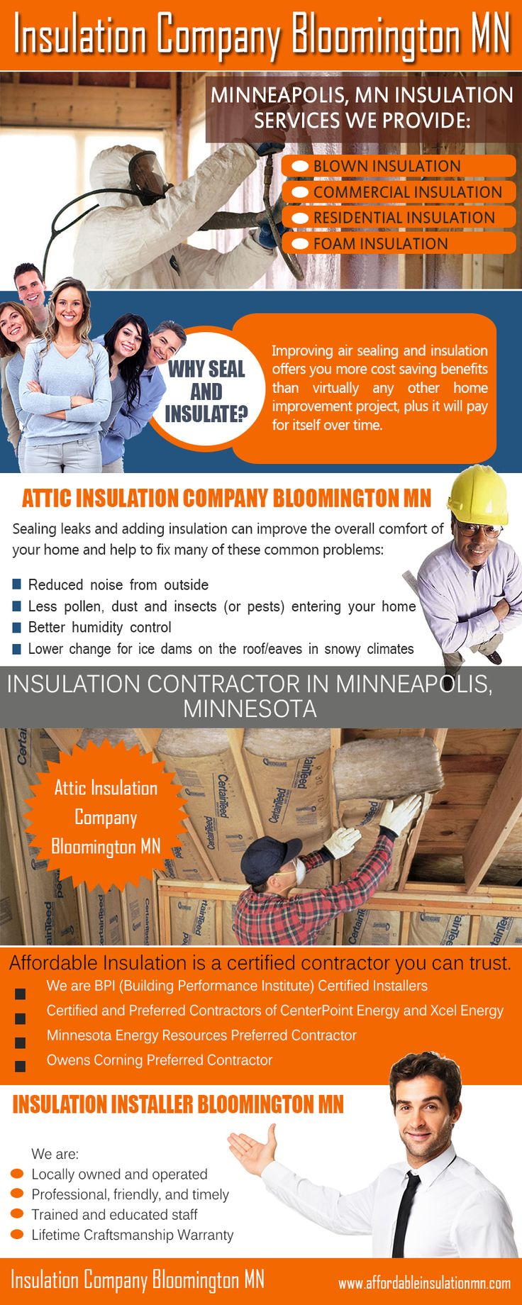 Besides this, learning more about the products being made use of is additionally a crucial factor. All these technical details are to be presented by the company's end. Browse this site http://www.affordableinsulationmn.com/attic-insulation-company-bloomington/ for more information on Insulation Company Bloomington MN.