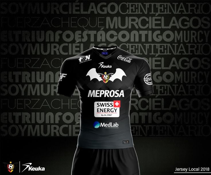 Camisas do Murciélagos FC 2018 Keuka