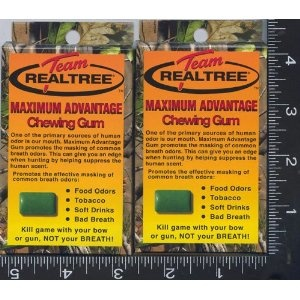 7, BOXES, Team, Realtree, Maximum, Advantage, Chewing Gum, CAMO GUM, CAMOUFLAGE GUM, REAL TREE, 12 PIECES per BOX, Kill, game, with your, bow, or gun, NOT your, BREATH, REAL TREE, GUMS, GUM, Promotes, the, effective, masking, of, common breath odors, food odors, tobacco, soft drinks, bad breath, Chew, 1 piece 20 minutes prior to, hunting, and, every hour thereafter, NEW, IN PACKAGE, [BOOK], UCP758309432205 (Misc.)  http://free.best-gasgrill.com/redirector.php?p=B003VT0WI2  B003VT0WI2