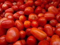 for best tasting Tomatoes...plant using 3 cups compost, 1 cup Epson salt, 1 tablespoon baking soda