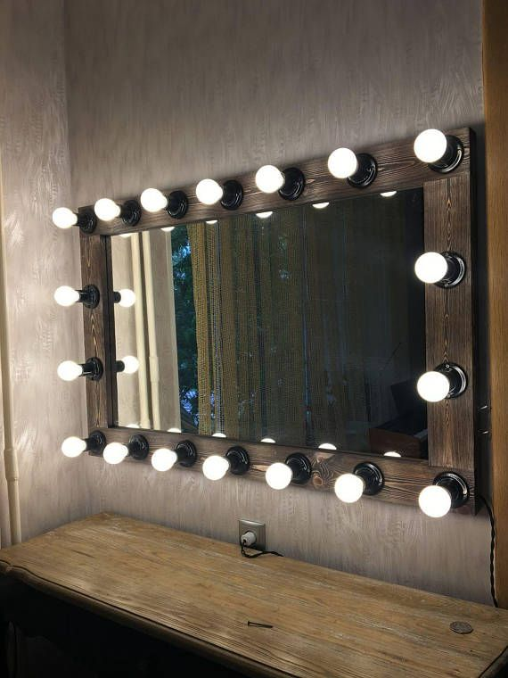 Hollywood Vanity Mirror Makeup Mirror With Lights Makeup Artist