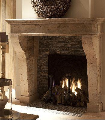Antique fireplaces