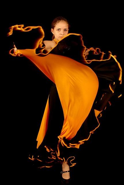 Un instante de Flamenco. By mrsoto on flickr, Creative Commons license.