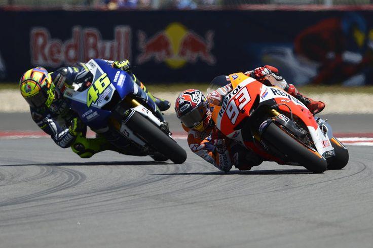 Marquez Kembali Finis Terdepan di Catalunya