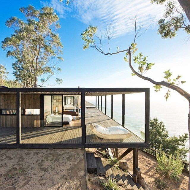 Till House by WMR Architects Location: #Chile by _archidesignhome_