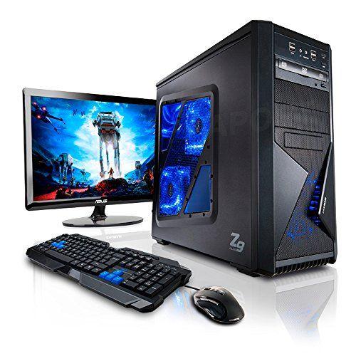 """Megaport Super Méga Pack - Pack Complet X96 Warhead Desktop PC • Asus VS228NE Ecran LED 22"""" • Claviers de jeu et Souris • Processeur AMD FX-6300 6x3.5Ghz • NVIDIA GeForce GTX960 2048 Mo • Mémoire 8Go • Stockage 1000Go • Windows 7 Pro 64 • WiFi • Lecteur de DVD Megaport http://www.amazon.fr/dp/B0168Q2RDC/ref=cm_sw_r_pi_dp_8BRiwb1SEEVHC"""
