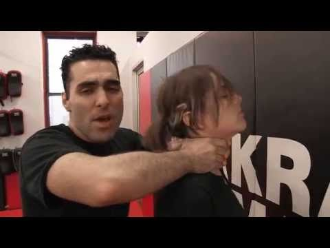 Krav Maga NYC - How not to get your head slammed - YouTube