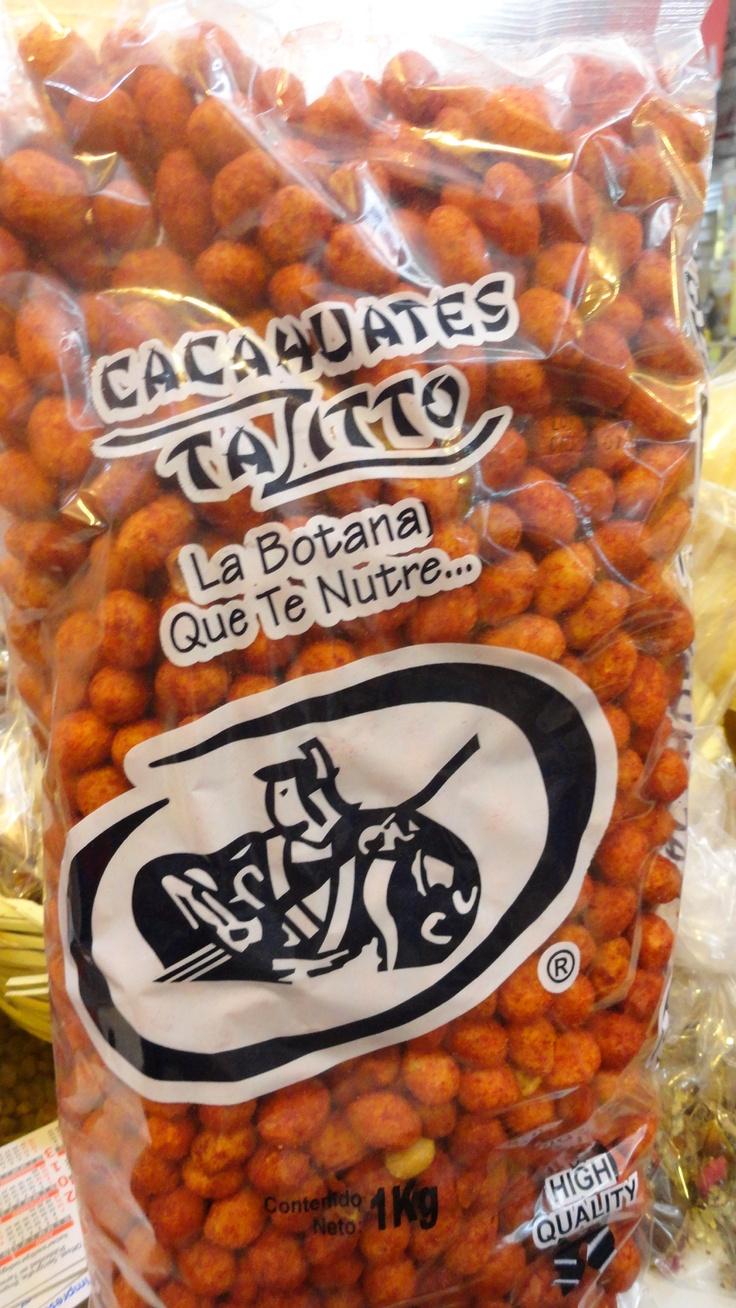 Deliciosos cacahuates japoneses enchilados!