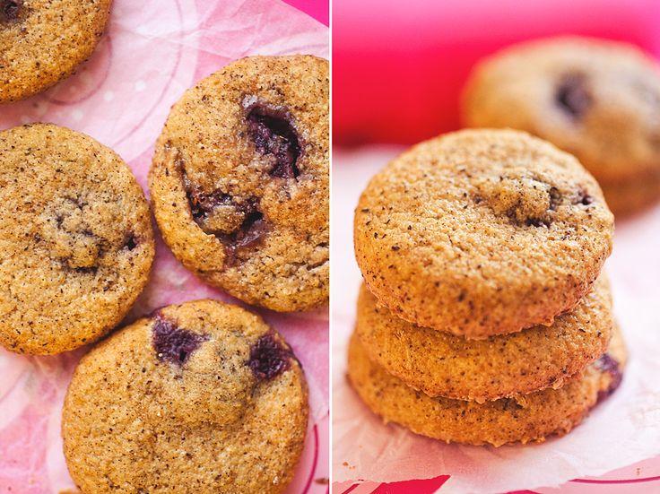 vaniljkakor med körsbärsgömma