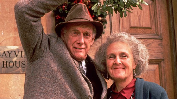 Graham Crowden and Stephanie Cole - the wonderful duo of Tom Ballard and Diana Trent from Waiting for God