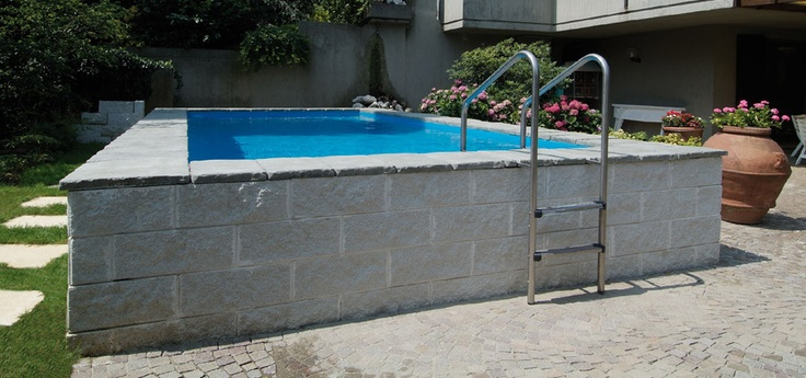 17 best images about piscina on pinterest pools for Piscine laghetto