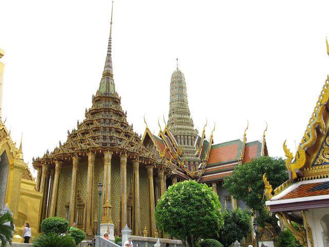 Wat Phra Kaew. Bangkok, Thailand