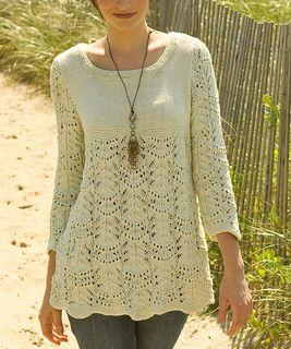 Wavy Lace Tunic pattern by Gayle Bunn