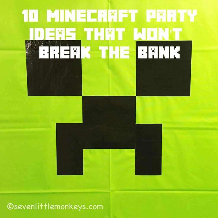 When I set out to plan for my son's Minecraft-themed 9th birthday party — I'm not gonna lie — I hit up Pinterest. Hard. There are so many great ideas out there that sometimes you don't need to reinvent the wheel; you just need to know how to roll with it. Since my kiddo only … … Continue reading →