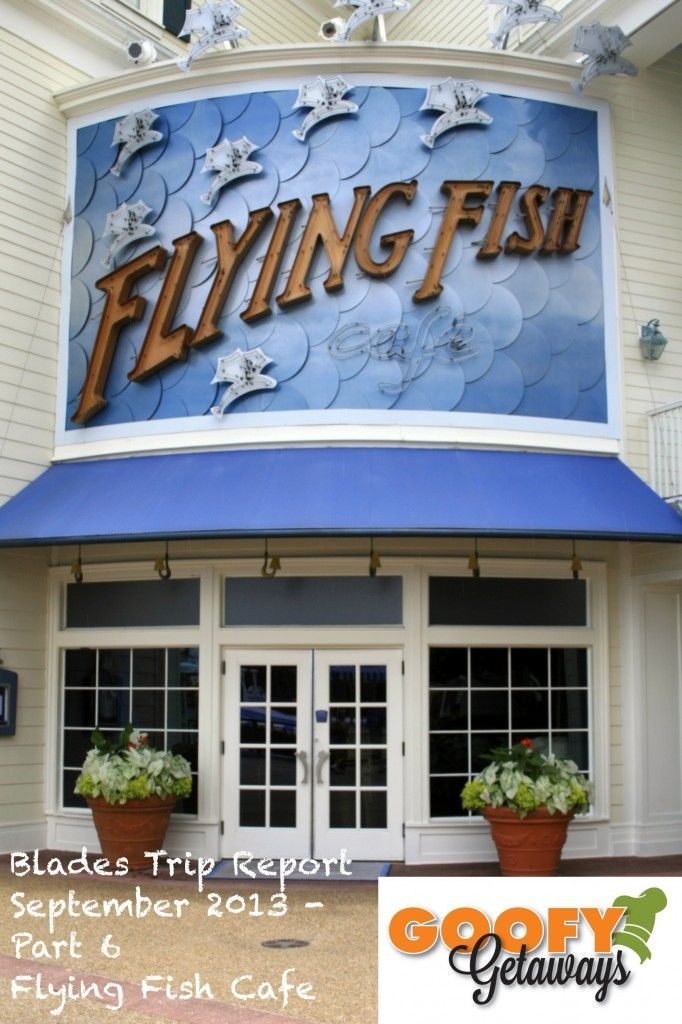 Flying Fish Cafe anyone???  Here our review in the latest segment of Blades Trip Report September 2013!!! #Disney #WDW #Disneyfood #Waltdisneyworld