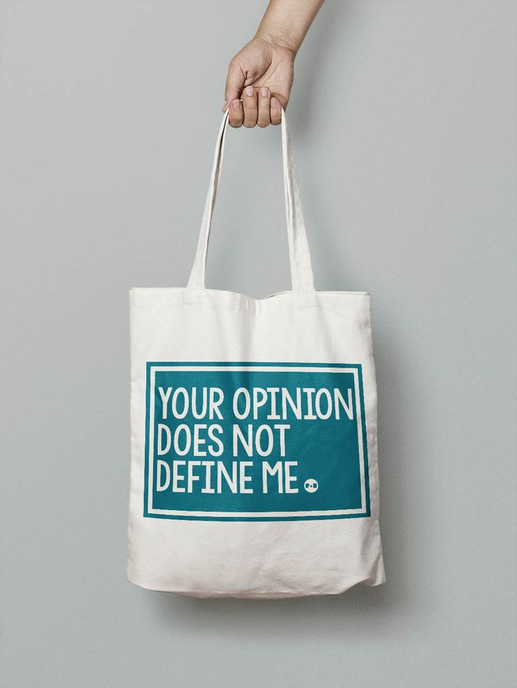 Your Opinion Does Not Define Me tote bag #feminist #activist #resist #totebag #carryall #holdall #shopper #girlpower #tote #giftforher #christmaspresent #equality #pirateandblue