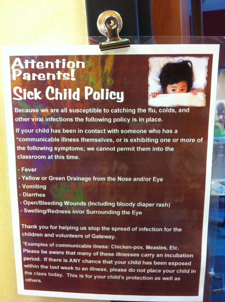 child protection signs for kidmin volunteers
