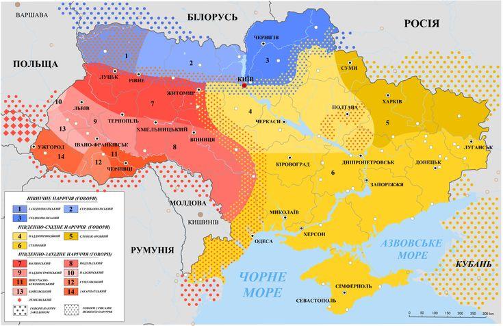 Діалекти української мови