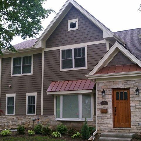8 best hardieshingle siding images on pinterest exterior for Bark house siding