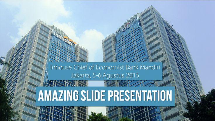 Inhouse Amazing Slide Bank Mandiri 5-6 Agustus 2015.