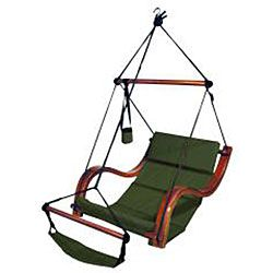 Enjoy the outdoors during a cool, relaxing evening or during the warm morning with this comfortably cushioned porch swing. Read a book while appreciating fresh air and nature or delight in your child'
