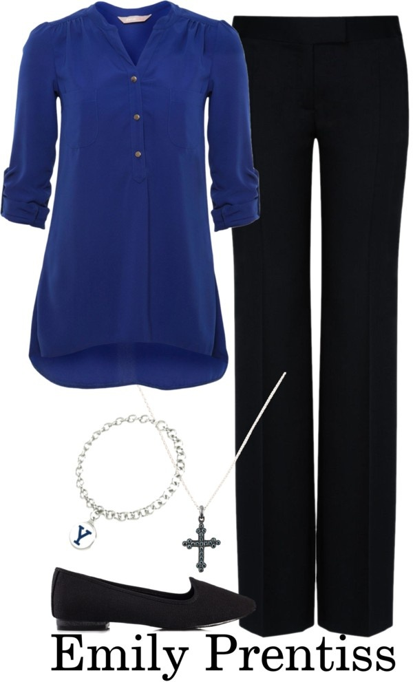 """""""Emily Prentiss"""" by allij28 ❤ liked on Polyvore"""