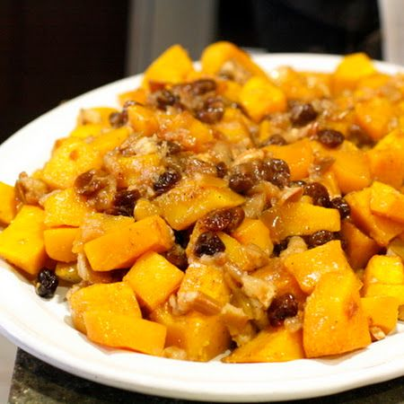 Slow Cooker Butternut Squash with Apples