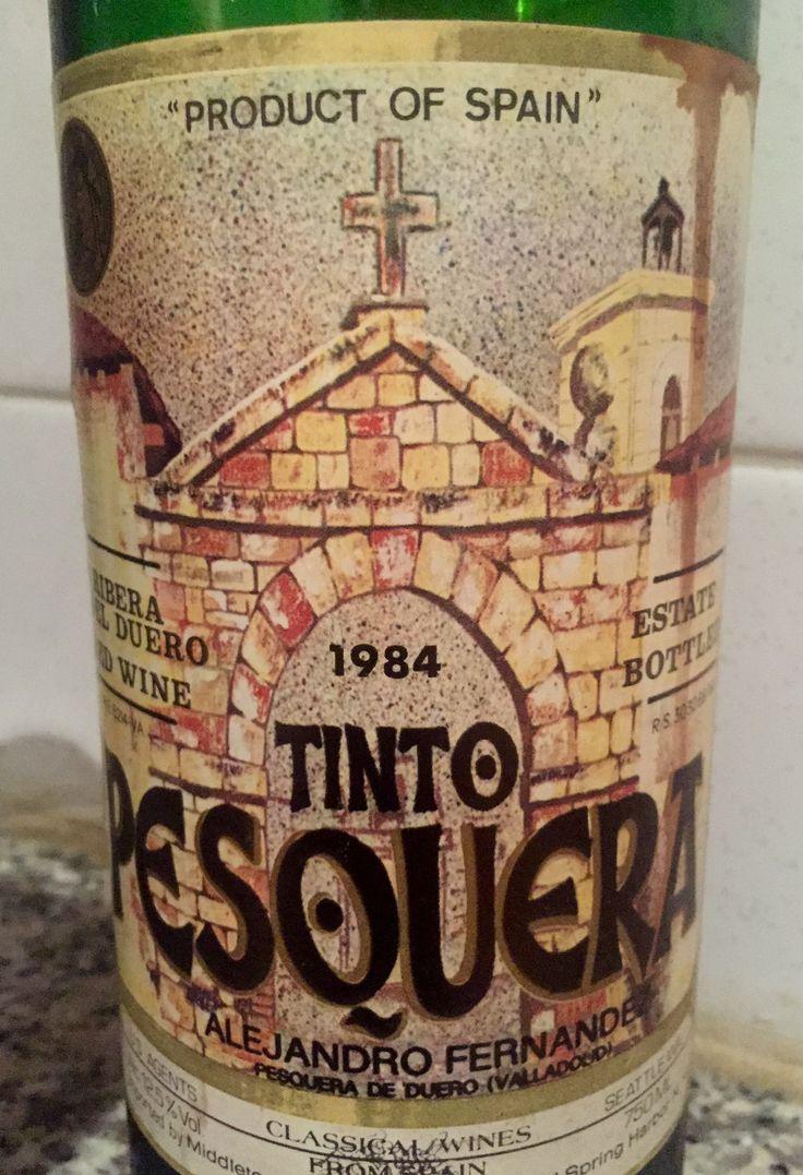 1984 Tinto Pesquera...fantastic!