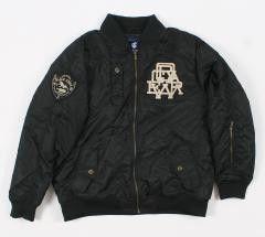 4PL235N Mens Black Parka Jacket 2XL MSRP: $161.99
