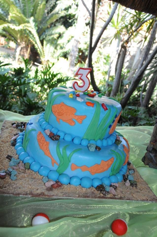 Fish theme party - A Fishtastic Cake!