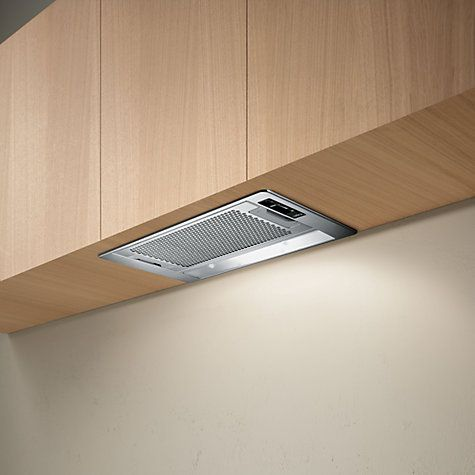 Elica Eliplane 60 Built-In Cooker Hood, Stainless Steel