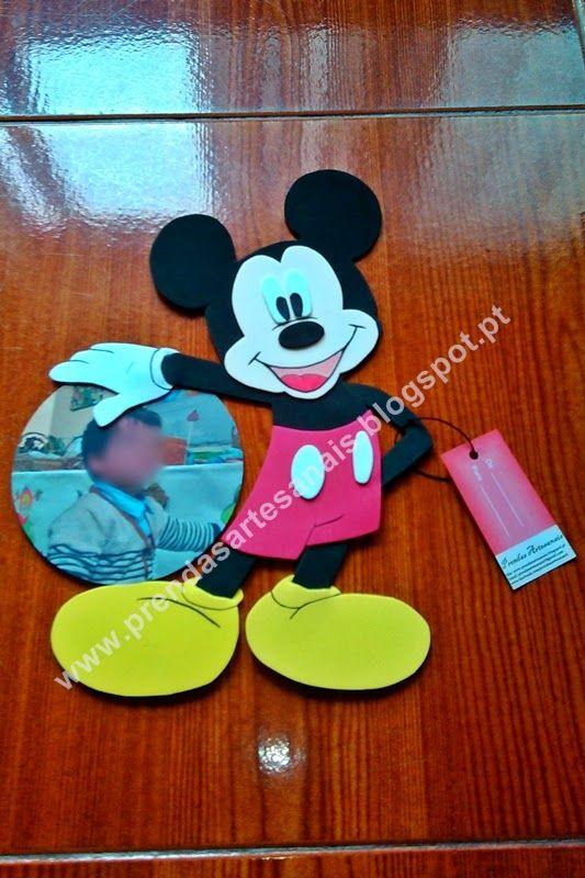 Mickey Mouse - Placa de porta