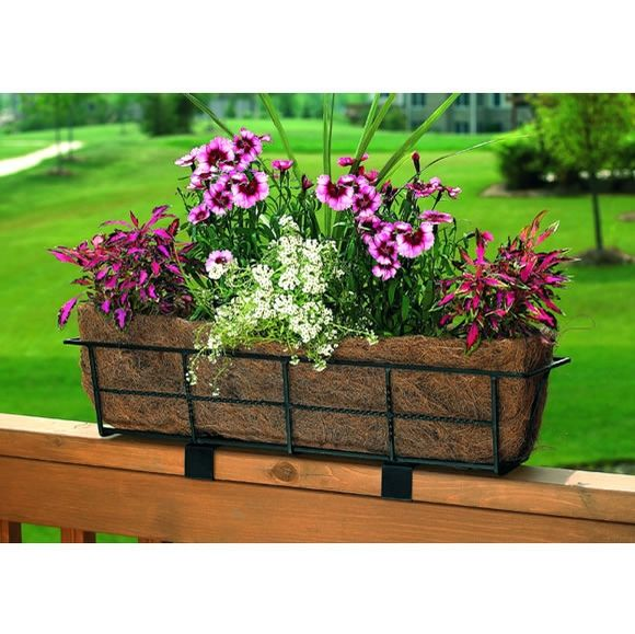 Deck Flower Box: Best 25+ Deck Railing Planters Ideas On Pinterest
