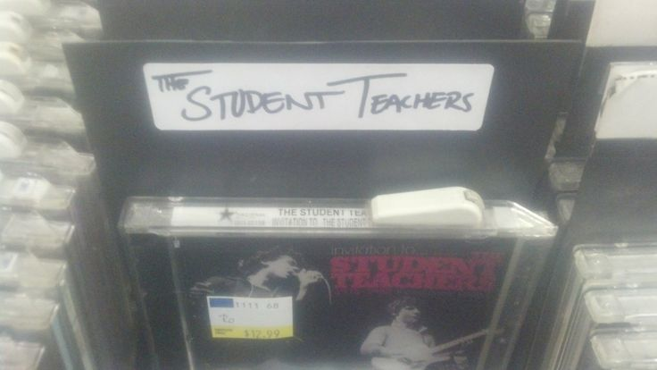 The student Teachers album is now on stores!