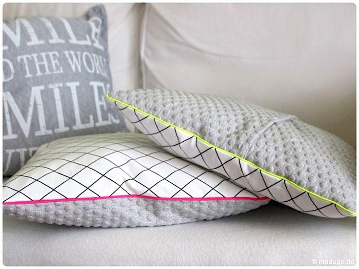 kissenhuelle mit paspel mamasliebchen modage 4 diy n hen pinterest mamasliebchen. Black Bedroom Furniture Sets. Home Design Ideas