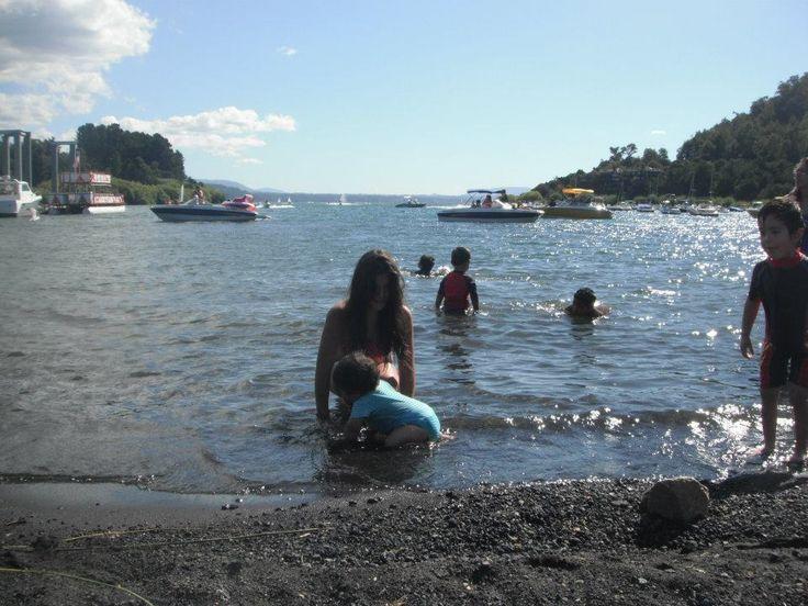 Lago Villarica, Pucon.