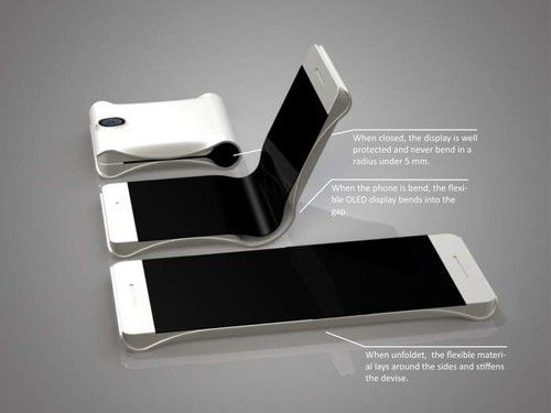 #Samsung promises foldable smartphones by 2015. #Technology #News...I'll believe it when I see it.