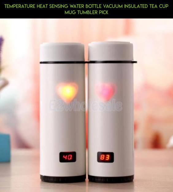Temperature Heat Sensing Water Bottle Vacuum Insulated Tea Cup Mug Tumbler PICK #camera #gadgets #tech #bottle #heating #plans #shopping #products #drone #fpv #water #technology #racing #parts #kit