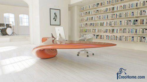 Футуристическая мебель для офиса