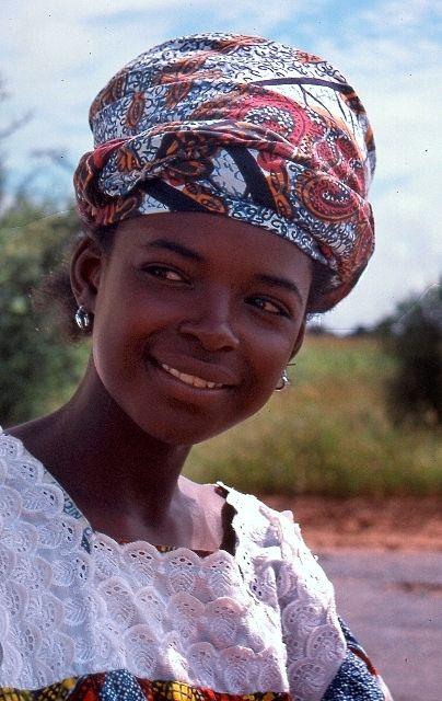 Joven Wolof Senegal