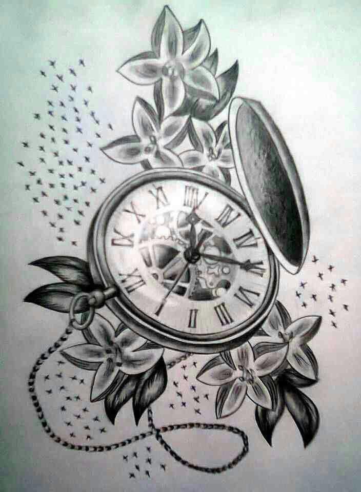 Taschenuhr tattoo  48 besten Tattoos Bilder auf Pinterest | Tattoo-Designs, Vorlagen ...
