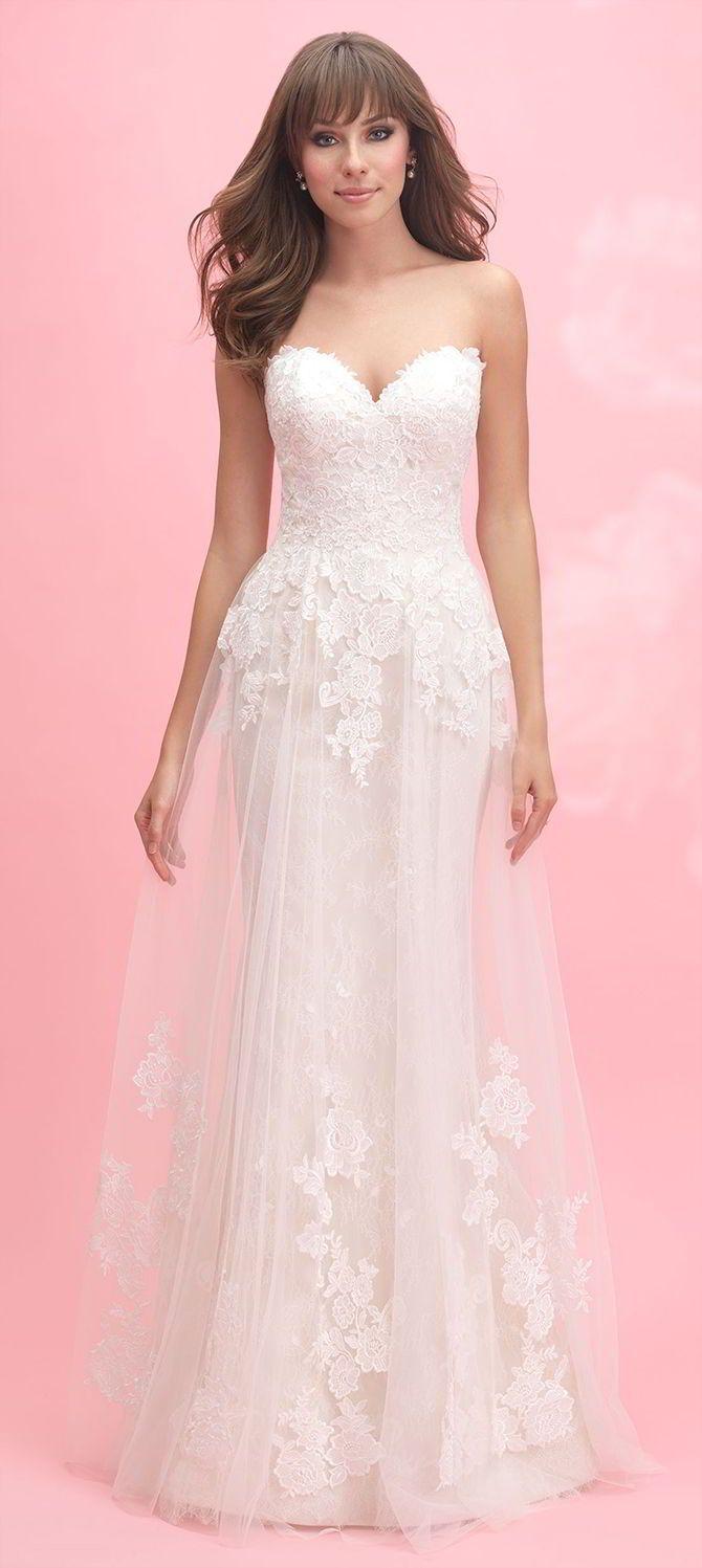 Mejores 81 imágenes de Strapless Gowns en Pinterest | Vestidos de ...