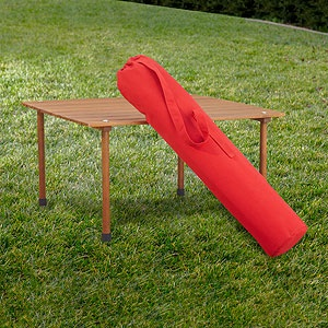 Roll Up Picnic Table | World Market